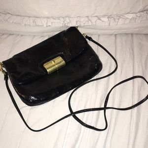 Coach Patent Leather Small Crossbody Bag